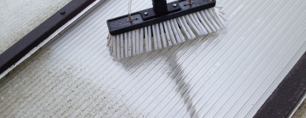 Conservatory roof cleaning